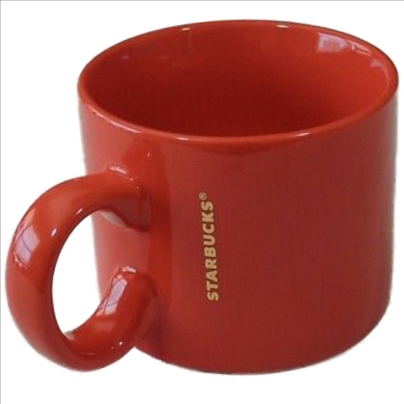 Starbucks Kitchen 2017 Red 12ounce Stackable Coffee Mug Poshmark